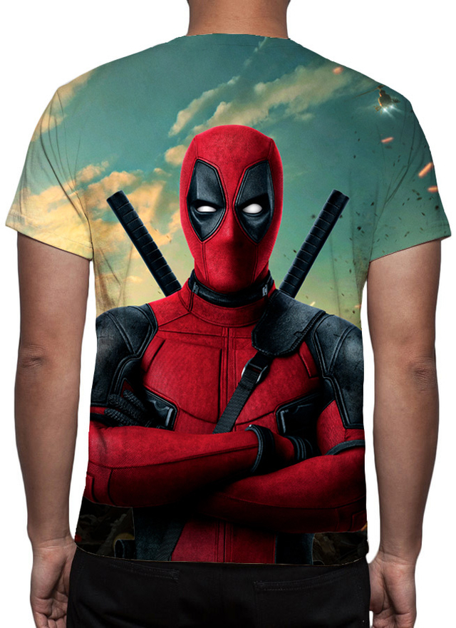 Camiseta Deadpool