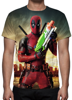 CAMISETA GEEK - DEADPOOL