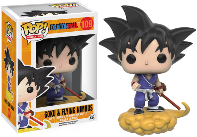boneco colecionavel funko pop goku dragon ball