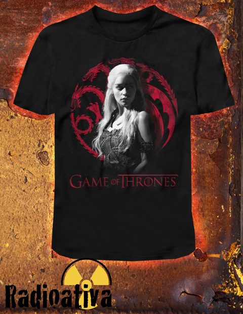 CAMISETA GEEK - GAME OF THRONES - DAENERYS TARGARYEN