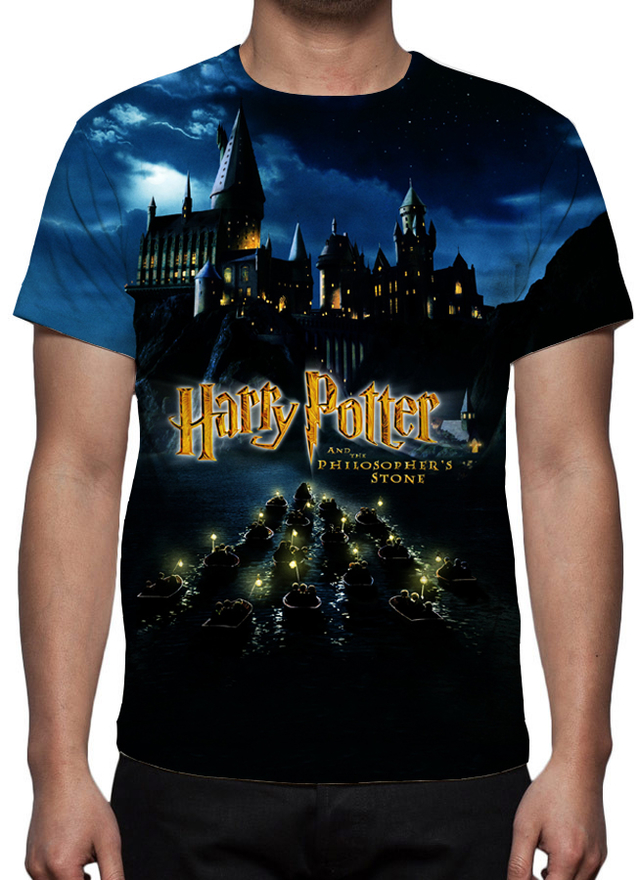 Camiseta Harry Potter e a Pedra Filosofal