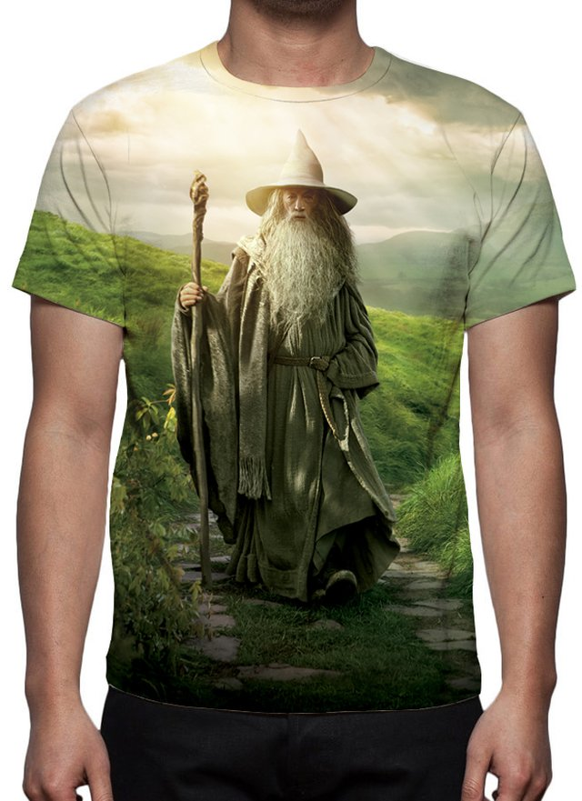 Camiseta Gandalf - O Hobbit