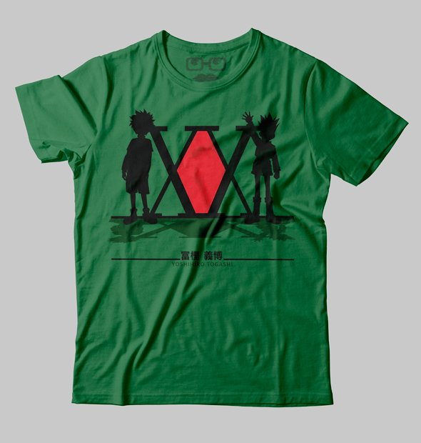 CAMISETA GEEK - HUNTER X HUNTER