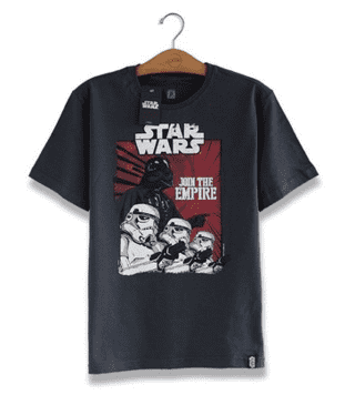 CAMISETA - STAR WARS - JOIN THE EMPIRE