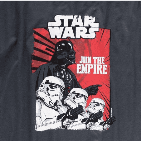 CAMISETA - STAR WARS - JOIN THE EMPIRE - comprar online