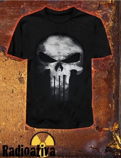 CAMISETA GEEK - JUSTICEIRO CINZA - PUNISHER