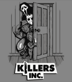 CAMISETA GEEK - KILLERS INC.