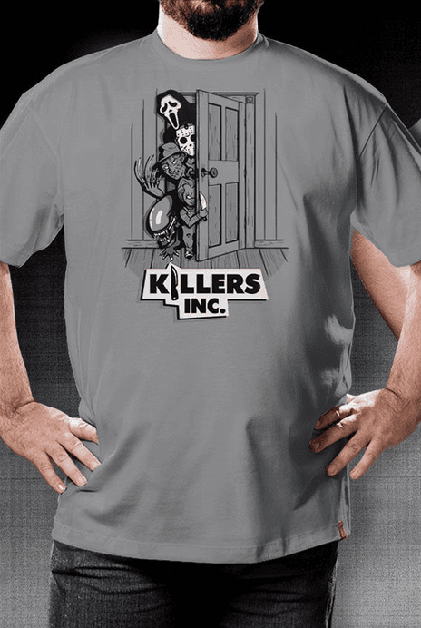 Camiseta Killers Inc. - Geek e Nerd