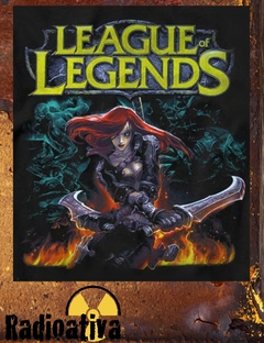 CAMISETA GEEK - LEAGUE OF LEGENDS - KATARINA