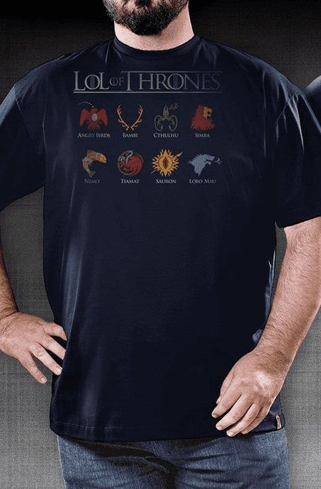 Camiseta Lol of Thrones - Geek e Nerd