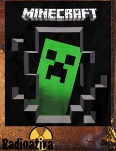 CAMISETA GEEK - MINECRAFT - CREEPER