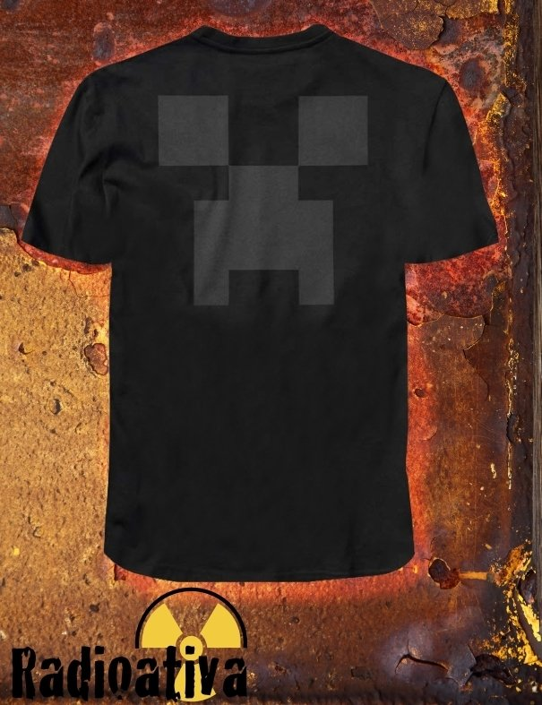 CAMISETA GEEK - MINECRAFT - CREEPER na internet