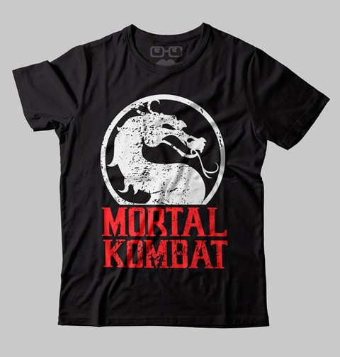 CAMISETA GEEK - MORTAL KOMBAT