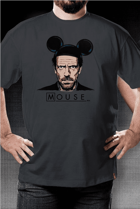 Camiseta Mouse - Geek e Nerd