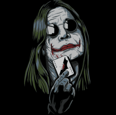CAMISETA GEEK - OZZY JOKER
