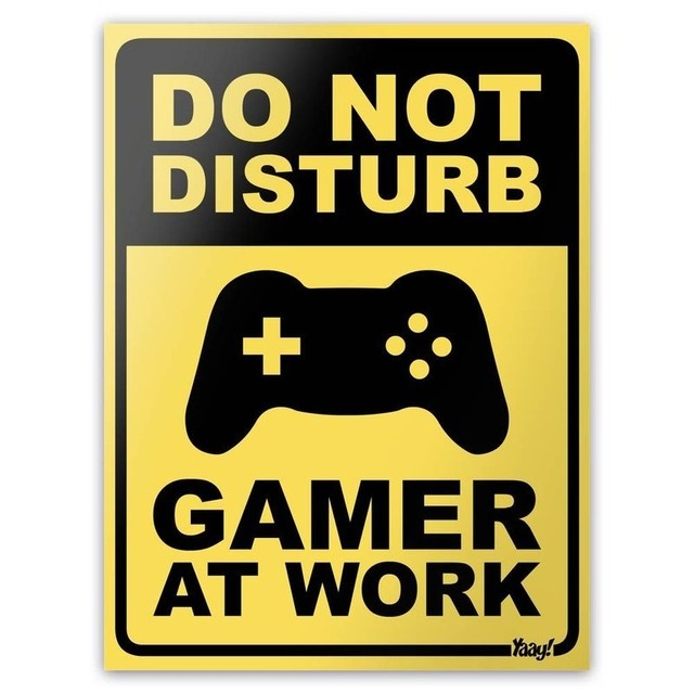 PLACA - GAMER AT WORK