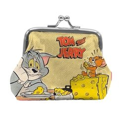 porta moedas tom and jerry hanna barbera