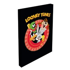 QUADRO TELA  COM LED - ALL CARACTHERS LOONEY TUNES