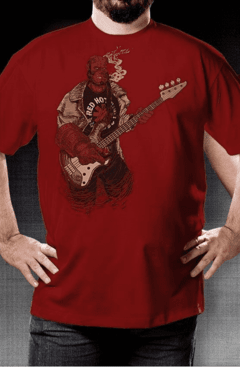 CAMISETA GEEK - RED HOT