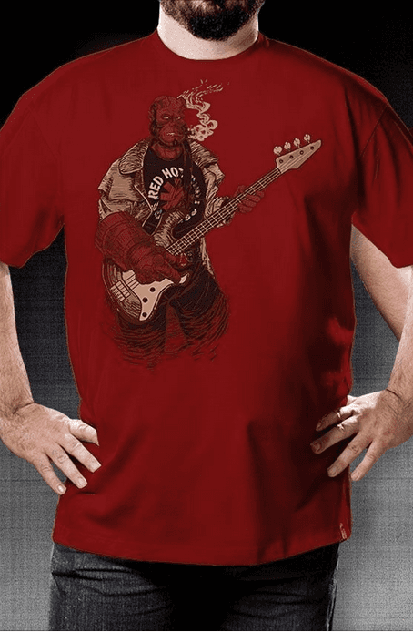 Camiseta Red Hot - Geek e Nerd