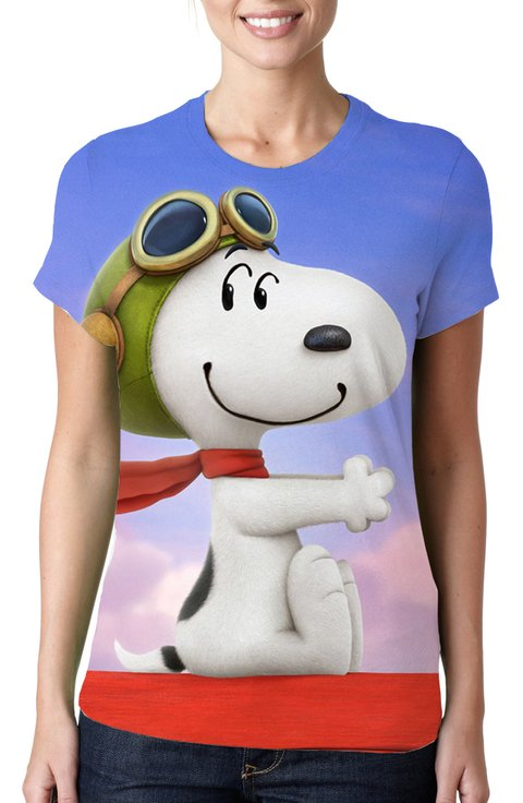 BABY LOOK - SNOOPY - MOD. 03
