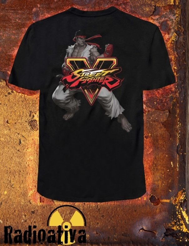 Camiseta Geek e Nerd - Street Fighter