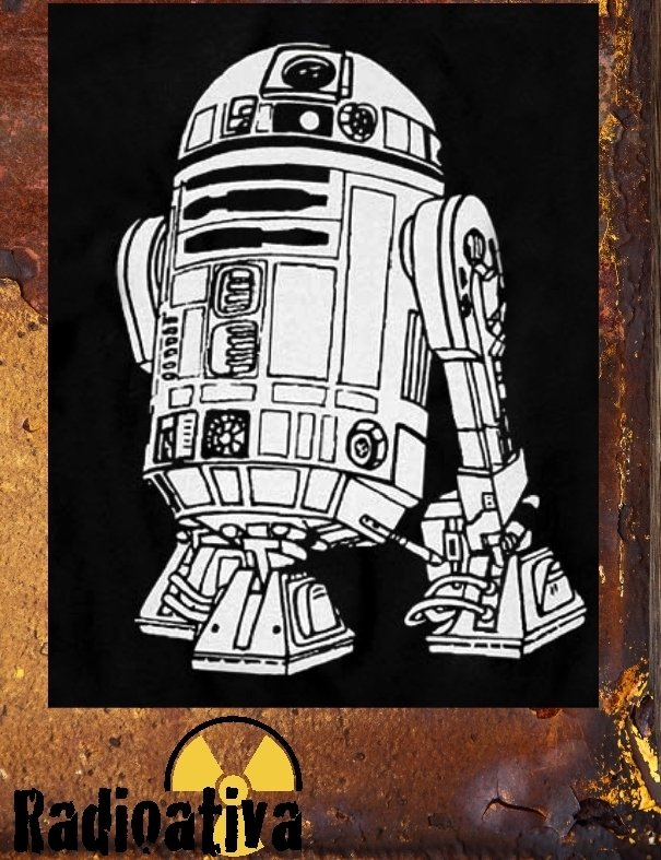 Camiseta Geek e Nerd - Star Wars - R2-D2