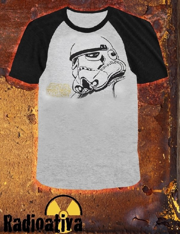 Camiseta Geek e Nerd - Star Wars - Stormtrooper