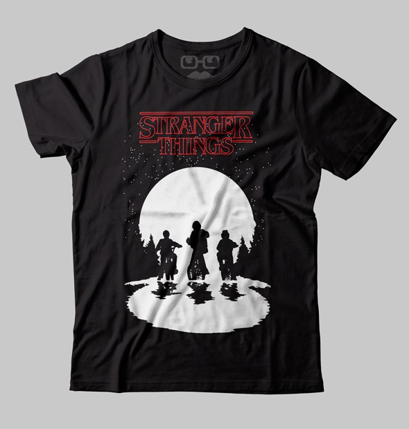 CAMISETA GEEK - STRANGER THINGS