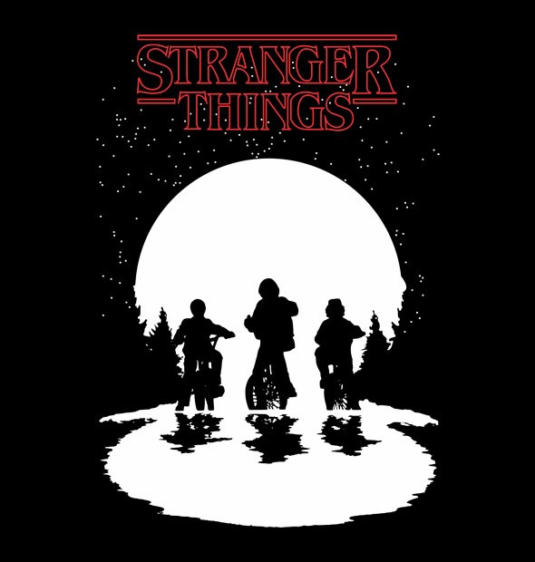 CAMISETA GEEK - STRANGER THINGS - comprar online