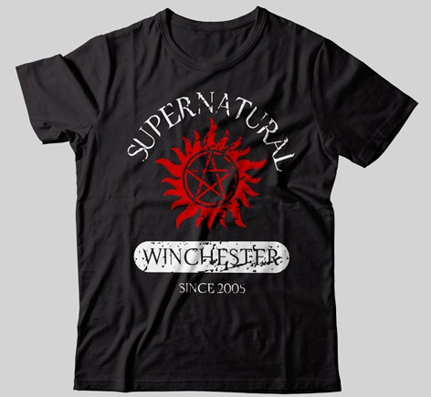 CAMISETA - SUPERNATURAL
