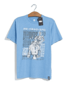CAMISETA - STAR WARS - TOUR DROIDS
