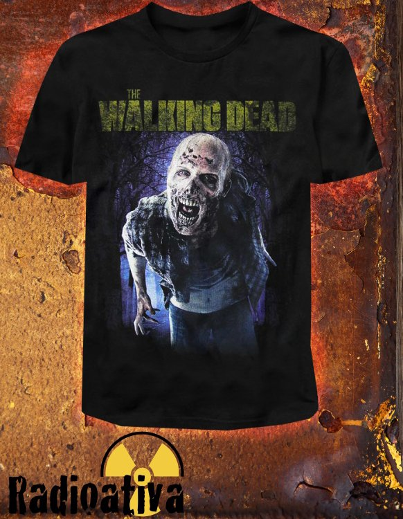 Camiseta Geek e Nerd - The Walking Dead