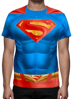 CAMISETA INFANTIL - UNIFORME - SUPERMAN
