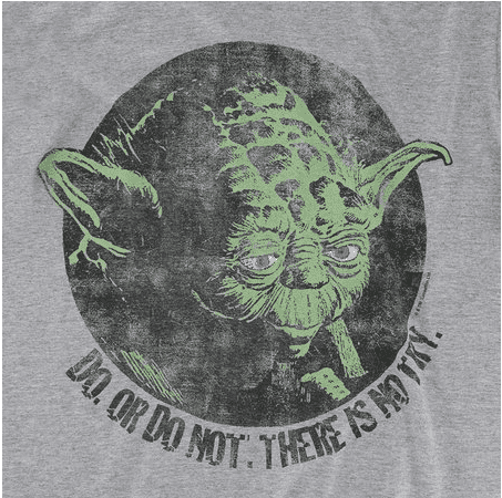 CAMISETA FEMININA - STAR WARS - YODA DO OR DO NOT - comprar online