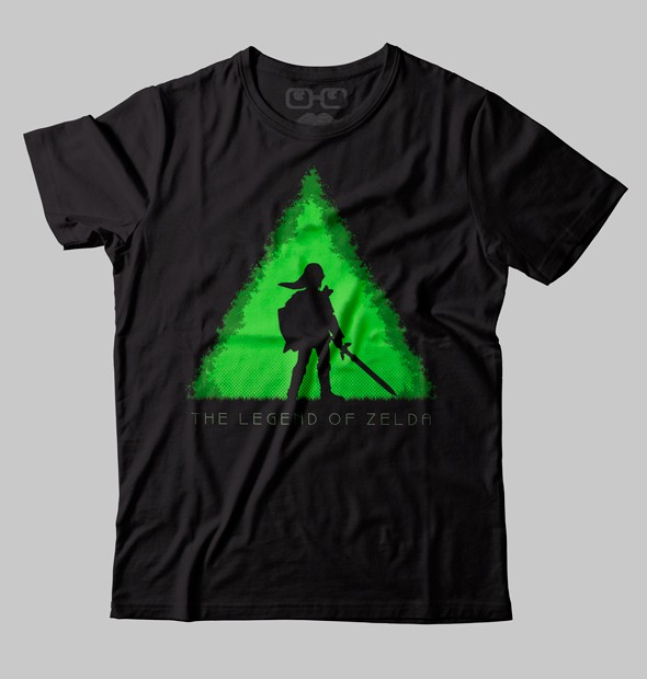 CAMISETA GEEK - THE LEGEND OF ZELDA