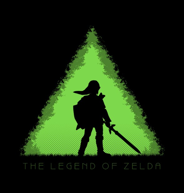 CAMISETA GEEK - THE LEGEND OF ZELDA - comprar online