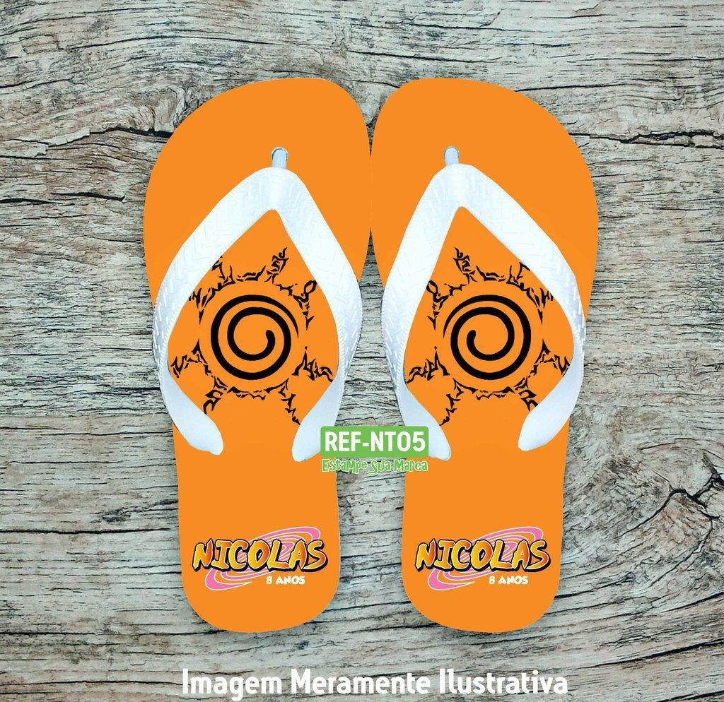 3598c18c323302 Chinelo Personalizado Naruto NT05