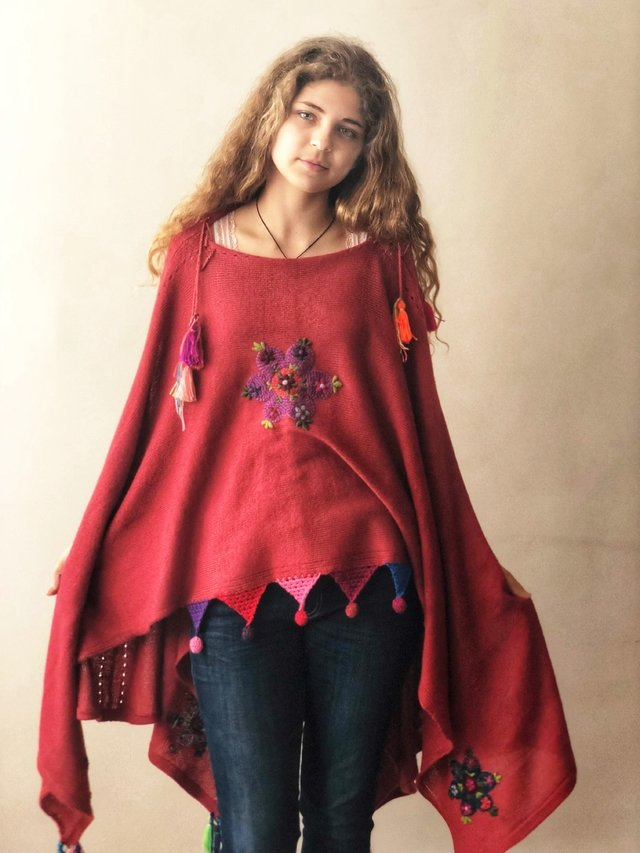 Poncho Anabelle C Accesorios
