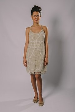 FILET LACE DRESS