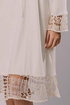 FILET LACE TUNIC - buy online