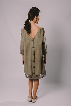 NATURALLY DYED DRESS - buy online