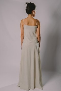 LONG DRESS WITH STRAPS FLAT - buy online