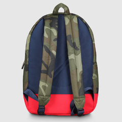 Mochila Classic Camouflage With Navy