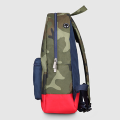 Mochila Classic Camouflage With Navy - comprar online