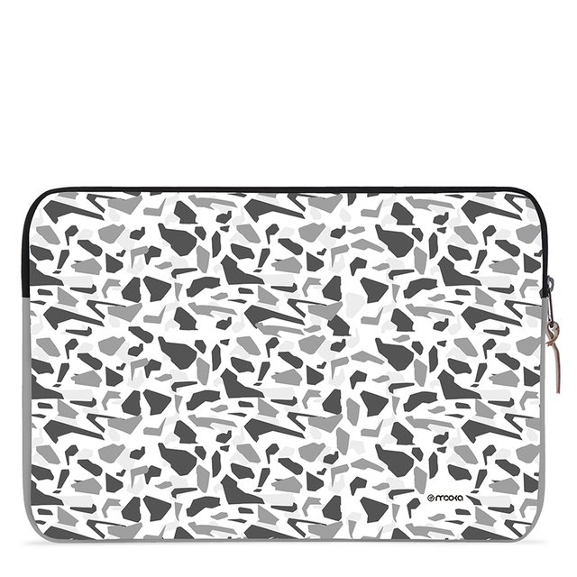 Funda Notebook Diseño Camo B&N 15