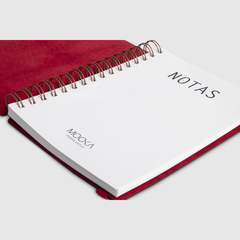 Cuaderno Quantum Red en internet