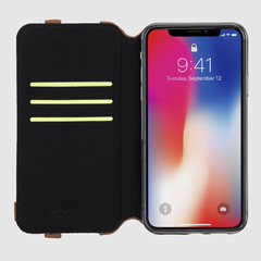Funda para iPhone X / Xs Lino Crudo en internet