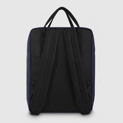 "Mochila Block 15"" Black and Blue - comprar online"