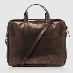 Document Briefcase Metallic Brown - comprar online